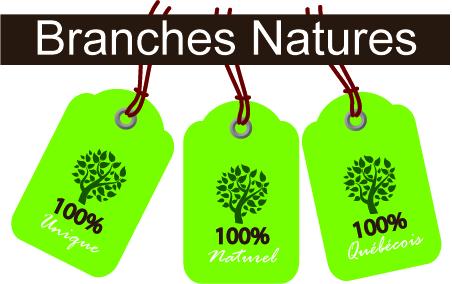 Branches et Décorations naturelles