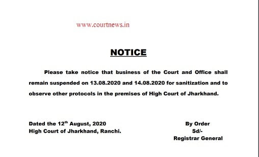 Registrar General of the high court