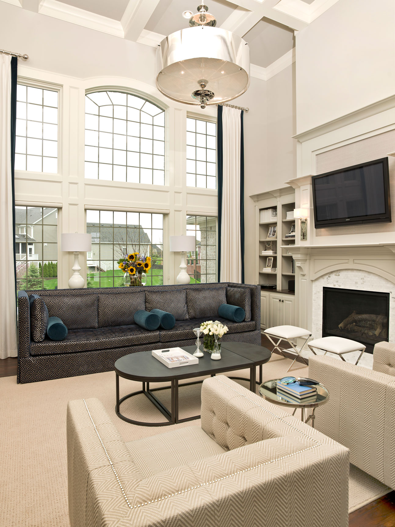 Courtney Casteel, Interior Design Living Room design