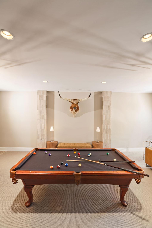 Courtney Casteel, Interior Design Billiard Room Design