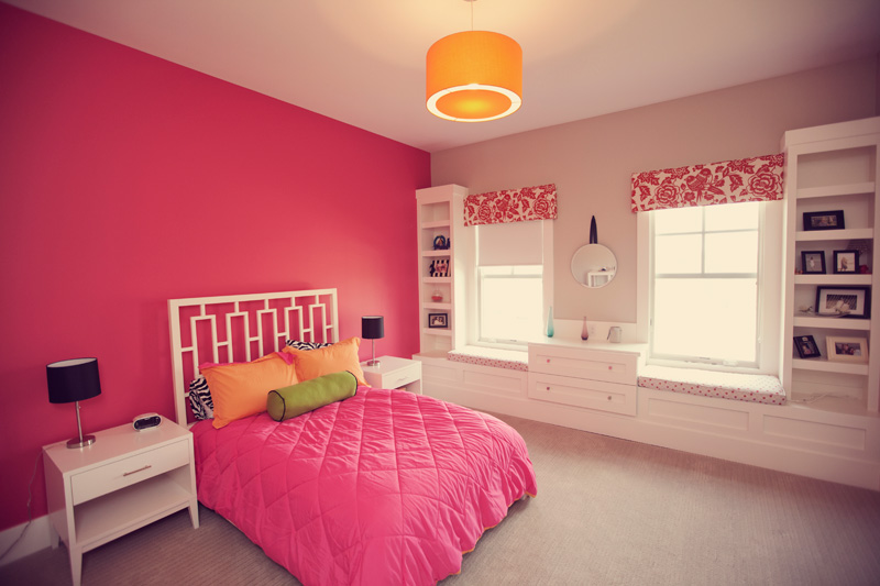 Courtney Casteel, Interior Design -Girl's room design