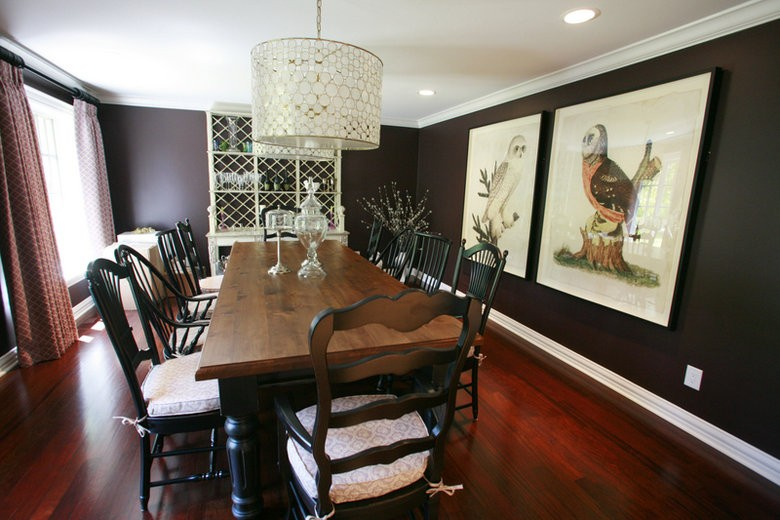 Courtney Casteel, Interior Design - Dining room design