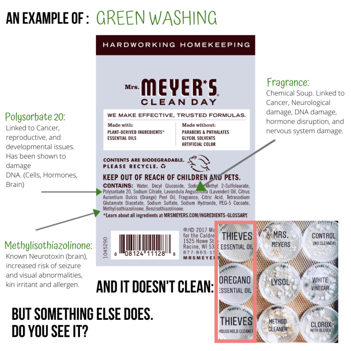An Example of _Green Washing_