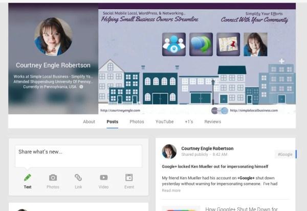 Google+ Cover Photo November 2013