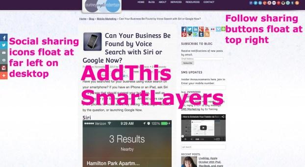 addthis smartlayers