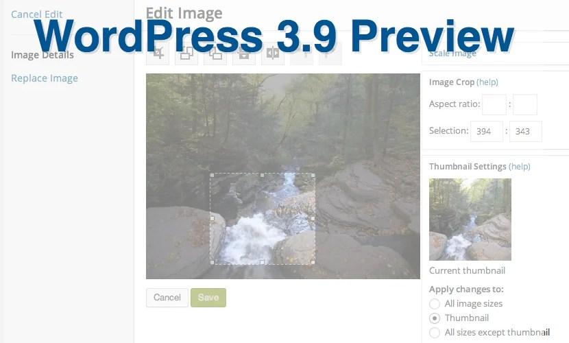 #WordPress 3.9 Release