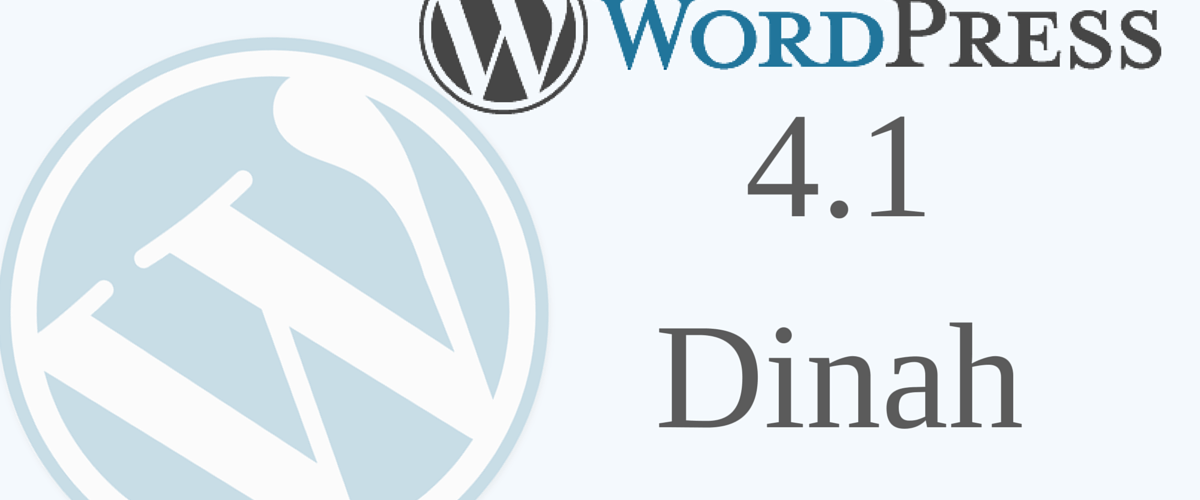 #WordPress 4.1
