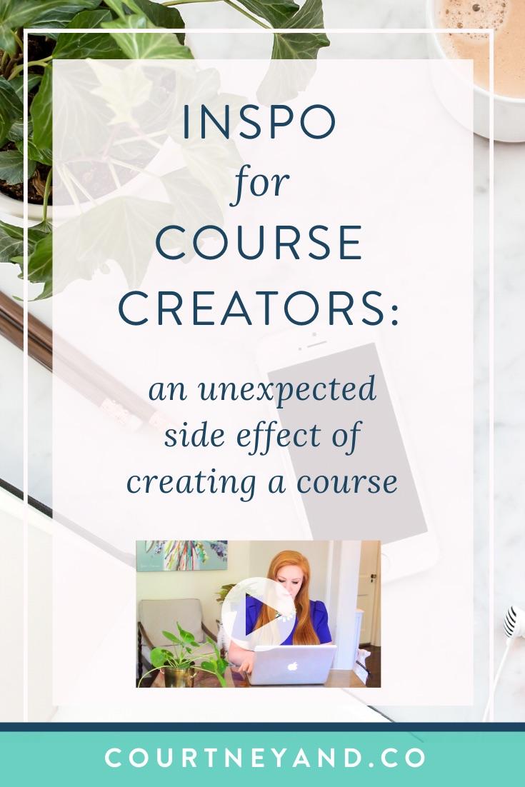 creating a course makes you a go-to expert