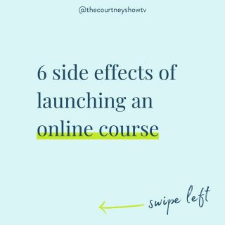"""On the fence about creating an online course? Swipe left 👈 to get the scoop.  P.S. Like the sounds of those """"side effects""""? 😉 I can help you get started.  Check out my free class here and take your next steps in creating a profitable online course: 👉 freecourseclass.com . . . . . . . . . . . . .  #onlinecoursecreators #onlinecoursetips #onlinecoursecreator #onlinecoursecreationtips #onlinecourselaunch  #onlinecoursecreation #onlinecourseexperts #coursecreators  #entrepreneurial #homebasedbusiness #growyourbusiness #thecoursecourse #digitalcourses"""