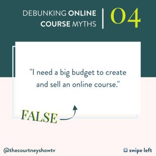 Not only do you not need a big budget to create and sell an online course, you don't really need one at all. For real. When it comes to creating and launching a course, there are a few specific to do list items: create the content, host the content, find leads, turn those leads into students. I mean, we can get fancier, but when it comes down to it, it's simply creating and selling a product, and all the little minutiae that comes with it. BUT — really exciting news — none of those things need to/have to cost a lot of money. Or any money... says the person whose first launch was $10K in 2 days with 0 ads budget, 0 audience, 0 influence, and a $5 domain name — which I didn't actually need 😂 Creating your content: This can be done with free tools you can access online. PDFs can be made in @canva ($0). Slides can be made in Google slides ($0). Videos can be filmed on that fancy little camera that's almost always in your hand anyway ($0, because you already have your phone). Editing can be done for free using free tools as well. Hosting your course content: So many, great course platforms are low-priced, and then there's @membervault which is free to your first 100 students — and they're a mighty little platform! E-mail marketing: SO many CRMs are free to the first 1,000 subscribers. Easy peasy. And then there's the whole going-out-and-finding-students thing, because after all, what if you're starting with zero audience? The good news: While ads are great, you *don't* need to start with ads. Now, more than ever before, there are so, so, so many fantastic ways to grow your audience and drive traffic organically (I touch on a few of these in Pocket Products™ and do a deep dive inside The Course Course). Truly, you can create and launch an online course and spend $0. There are plenty of fancy tools + fancy options that cost money, and I certainly don't say no to all of them, but you don't need any of them to get started. You can upgrade in time, or as I like to say to my s