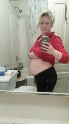 Day 7 (only 4 months preggo looking now:P)