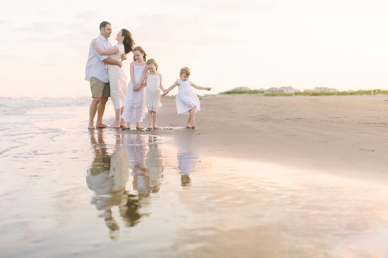 Galveston Family Beach Session | Photo by Courtney Griffin Photography