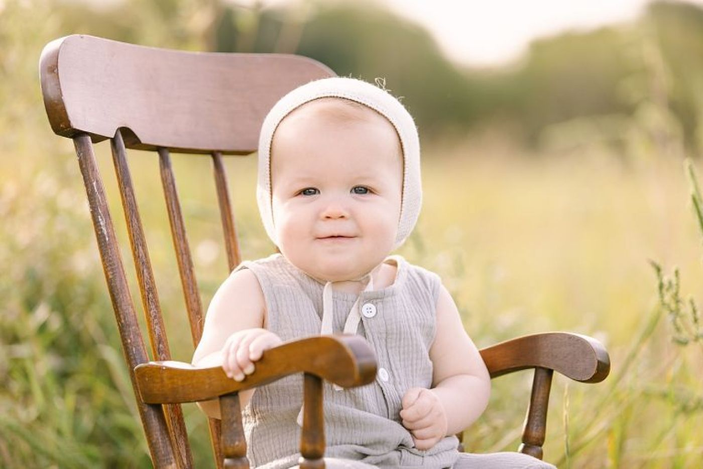 Sunset field session in Houston, TX with Family Photographer, Courtney Griffin Photography.