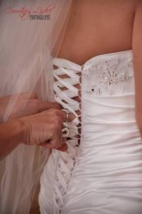 Ashlee & Matt - Dress details - Regina Wedding Photography