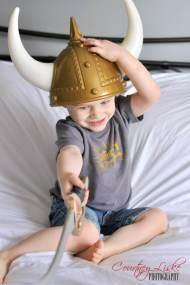 Regina Family Photographer - Liske family - Viking costume