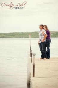 Regina Engagement Photography - Pam & Grant - Dock