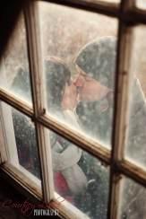 Regina Wedding Photographer - Andrew & Alicia - Barn Window Kiss