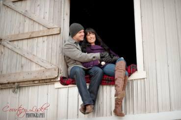 Regina Wedding Photographer - Andrew & Alicia - Barn Window