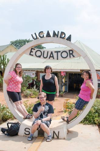 Regina Photographer - In Uganda - Equator Trip