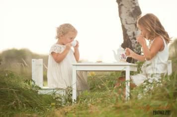 Regina Family Photographer - McCullough Family - Girls Tea Party