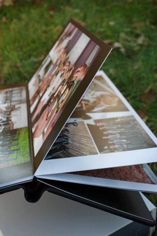 Regina Wedding Photographer - Luxury LayFlat Wedding Albums - Page Thickness