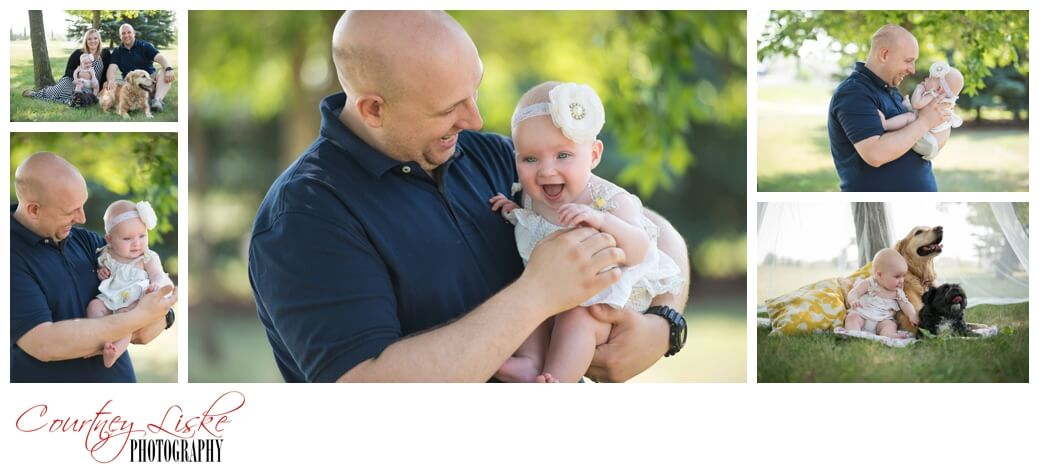 Isla & Daddy - Regina Family Photographer - Courtney Liske Photography