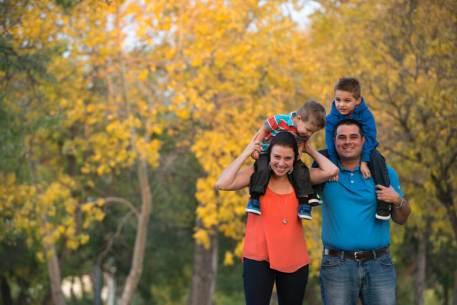 Favel family in Kiwanis Park - Top Gun Favel Family 2015