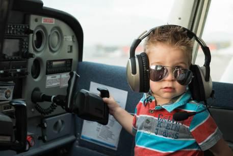 Jace rough landing at the Regina Flying Club - Top Gun Favel Family 2015