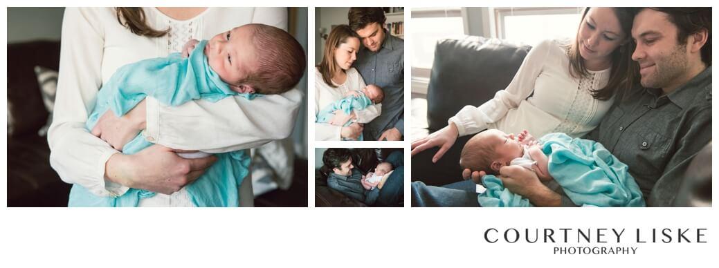 Connor Newborn - Courtney Liske Photography - Regina Family Photographer