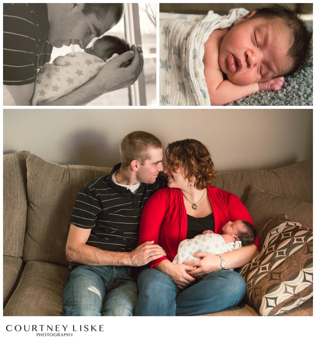 Jonah Newborn - Courtney Liske Photography - Regina Family Photographer