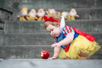 Evelyn is one - Regina Family Photographer - Courtney Liske Photography - Dwarfs