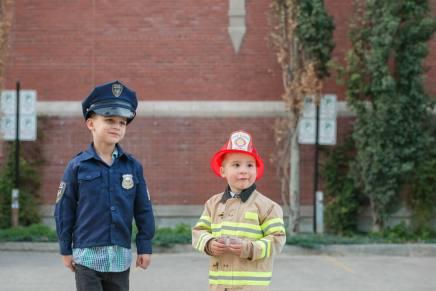 First responder team in Downtown Regina - Favel