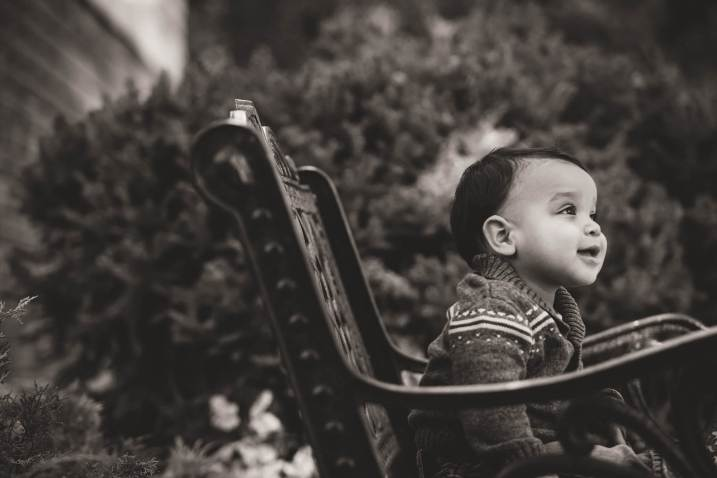 Courtney Liske Photography - Regina Family Photographer - Jaarsma Family - Wascana Park Bench