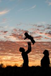 Courtney Liske Photography - Regina Family Photographer - Jaarsma Family - Sunset Flying