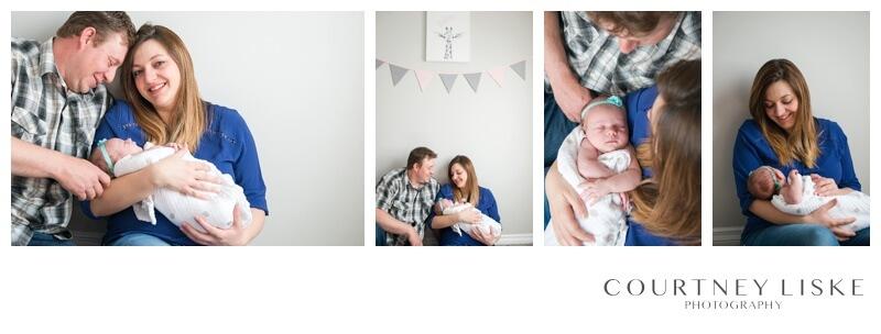 Brenna Newborn - Courtney Liske Photography - Regina Family Photograper - In home session