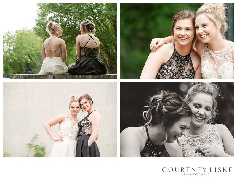 Jessica & Shanae Graduation - Courtney Liske Photography - Regina Family Photographer - Speakers Corner - Best Friends