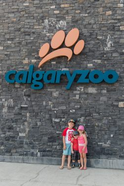 Liske family trip to the Calgary Zoo