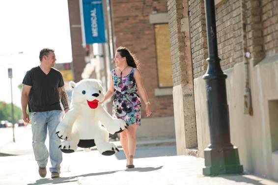Regina Engagement Portfolio - Johnny-Rene - Polar Bear