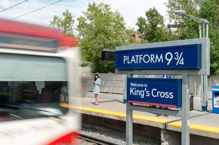 Welcome to Kings Cross station
