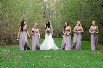 Regina Wedding Photographer - Alicia & Bridesmaids