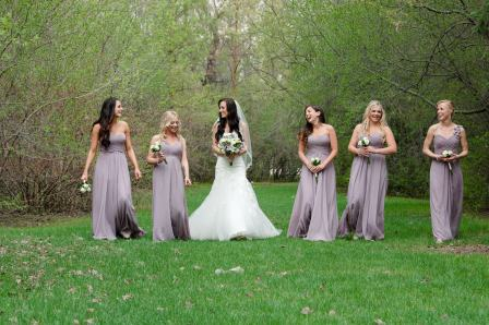 Regina Wedding Photographer - Alicia & Bridesmaids
