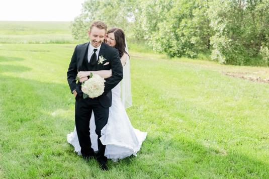 Regina Wedding Photographer - Keith & Janel - Laughter