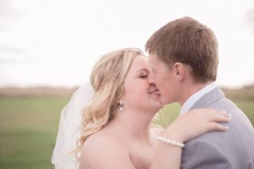 Regina Wedding Photographer - Stephen & Sara - Kiss