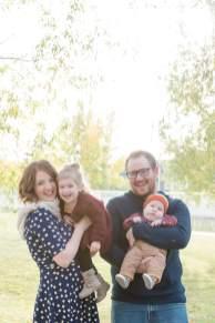 Selinger family in Wascana Park