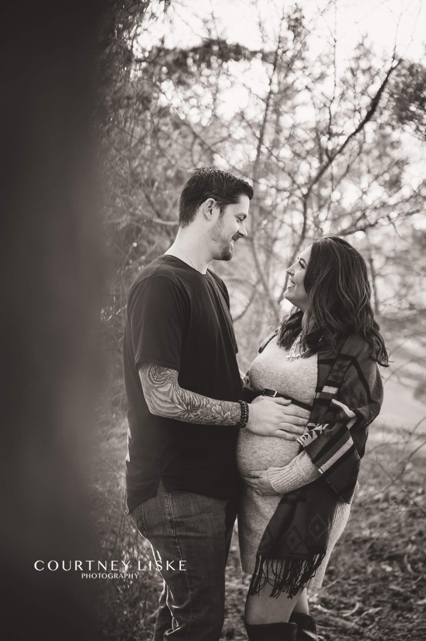 Dan & Brianne maternity session