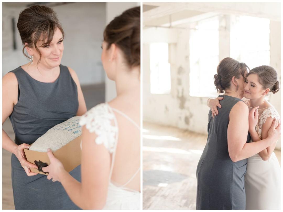 Mark & Kyra - Wedding - 18 - Kyra - Bride gift to Mom