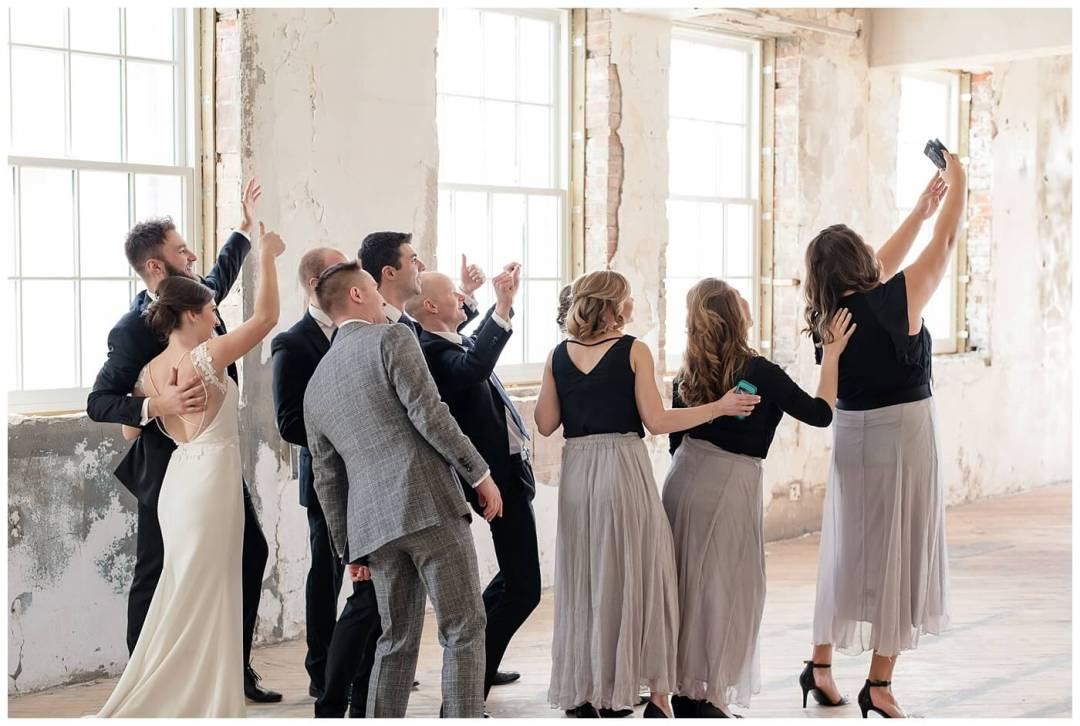 Mark & Kyra - Wedding - 19 - Wedding Party Selfie
