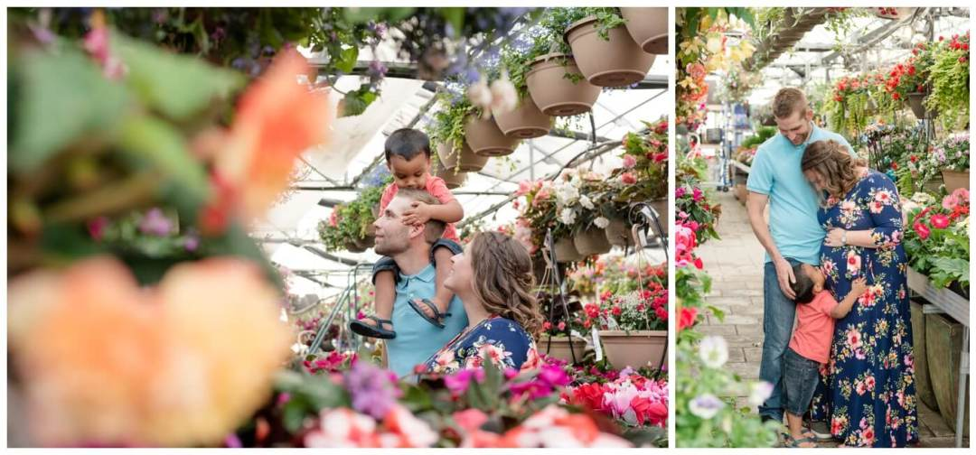 Regina Family Photographer - Justin-Charissa-Jonah - Regina greenhouse maternity