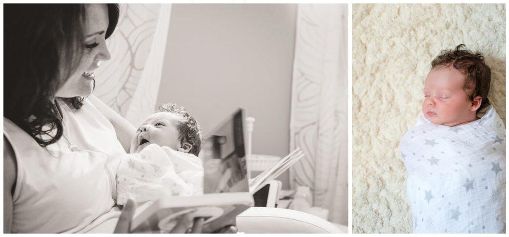 Regina Newborn Photographer - Heidi-Heather - Storytime