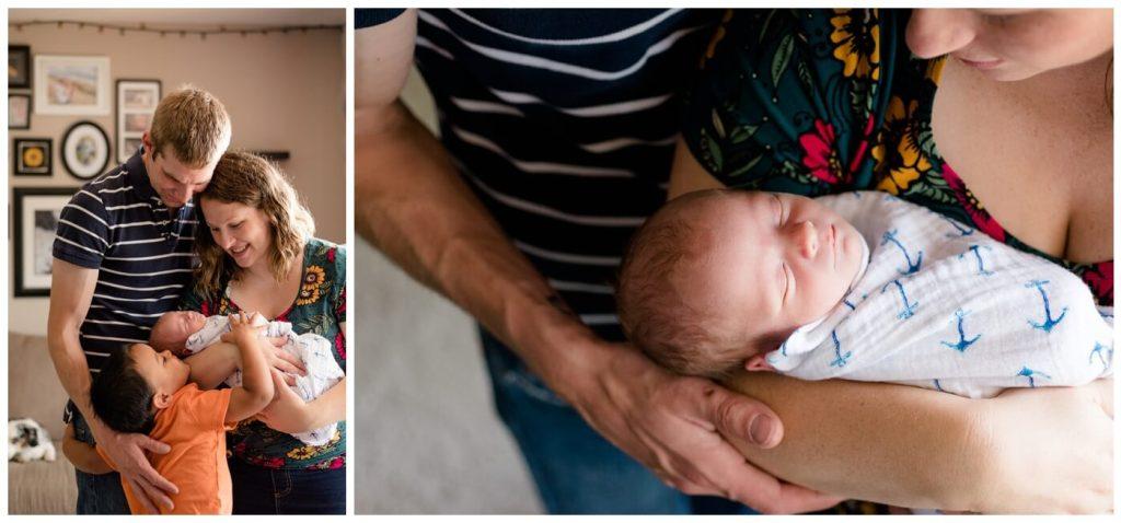 Regina Family Photographer - Avery-Justin-Charissa-Jonah - Family snuggles